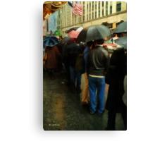 Rainy Afternoon on Broaway Canvas Print