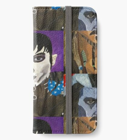 The Many Faces of Johnny Depp iPhone Wallet/Case/Skin