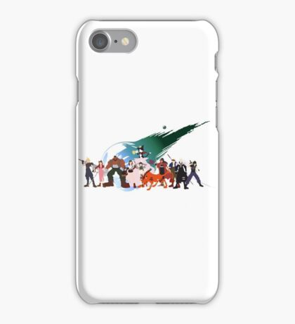 (NO BACKGROUND) Final Fantasy VII Characters iPhone Case/Skin