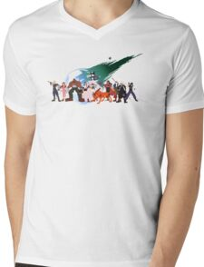 (NO BACKGROUND) Final Fantasy VII Characters Mens V-Neck T-Shirt
