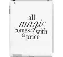 The Price of Magic iPad Case/Skin