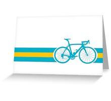Bike Stripes Kazakhstan Greeting Card