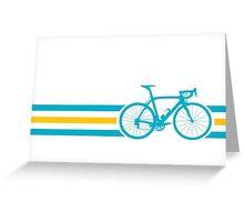 Bike Stripes Kazakhstan v2 Greeting Card