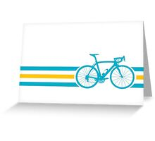 Bike Stripes Kazakhstan v2 Greeting Card