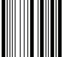 New York Barcode Sticker