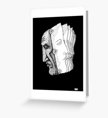 Pablo Picasso portrait  Greeting Card