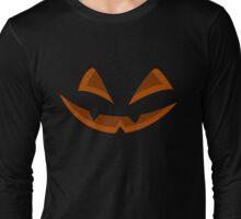 Jack O' Lantern Halloween Spooky Smile Long Sleeve T-Shirt