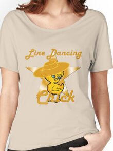 Line Dancing Chick #10 Women's Relaxed Fit T-Shirt