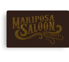 Mariposa Saloon Canvas Print