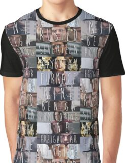 Bucky's Trigger Phases Graphic T-Shirt