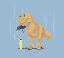 Raindrops Keep Fallin' on My T-Rex by meowzilla