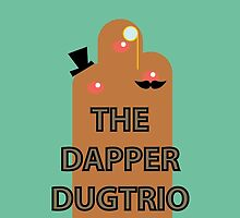 Dapper Dugtrio Minimalistic Logo Phone Case by Dapper Dugtrio