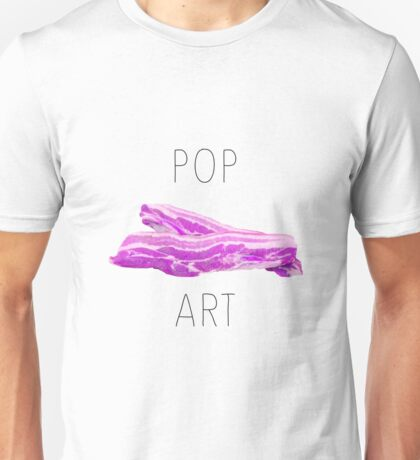 POP ART BACON Unisex T-Shirt