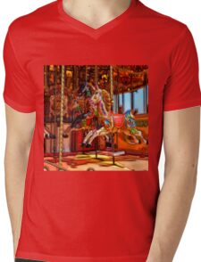 Have a ride on the merry-go-round Mens V-Neck T-Shirt