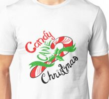 Candy Cane Christmas! Unisex T-Shirt