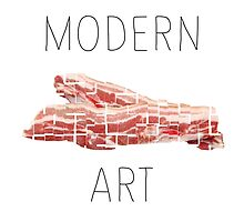 MODERN ART BACON by beanicon