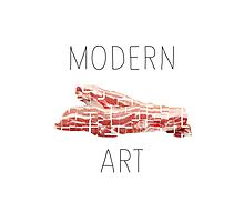 MODERN ART BACON Photographic Print