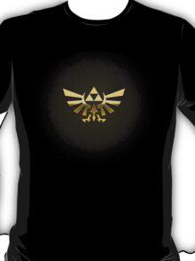 Hyrule Legend of  Zelda Link Crest triforce hylian shield T-Shirt
