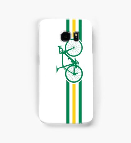 Bike Stripes Australian National Road Race v2 Samsung Galaxy Case/Skin