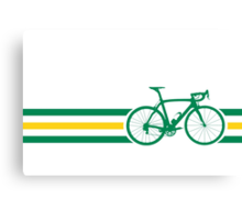 Bike Stripes Australian National Road Race v2 Canvas Print