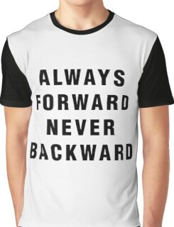 Luke Cage - Always Forward, Never Backward Graphic T-Shirt