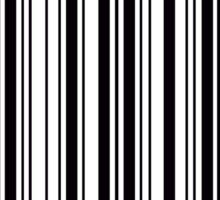 Hamilton Barcode  Sticker
