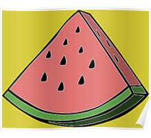 Pop Art Watermelon Poster