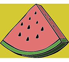 Pop Art Watermelon Photographic Print