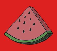 Pop Art Watermelon Baby Tee