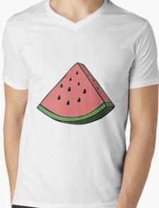 Pop Art Watermelon Mens V-Neck T-Shirt