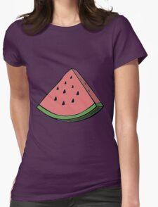 Pop Art Watermelon Womens Fitted T-Shirt