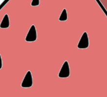 Pop Art Watermelon Sticker