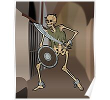 Skeleton Warrior  Poster
