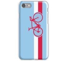 Bike Stripes Poland iPhone Case/Skin