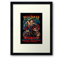 THE ULTIMATE NAILS HELLWAR Framed Print