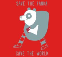 save the panda save the world! by zoolue