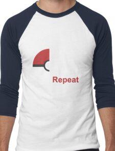 Pokemon Design Men's Baseball ¾ T-Shirt