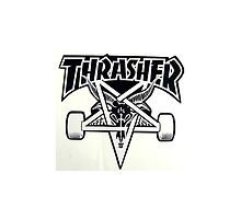 Thrasher Skateboarding by mxdnice