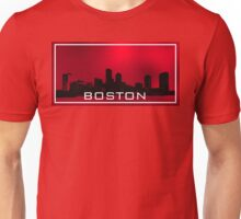 Boston.Red sky Unisex T-Shirt