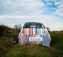My knitted car by SandrineBoutry