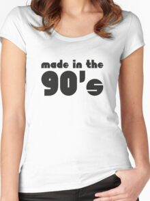 Made In The 90's Women's Fitted Scoop T-Shirt