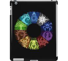 Grunge Guild Wheel iPad Case/Skin