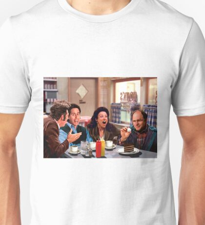Seinfeld Crew in Monk's Diner Unisex T-Shirt