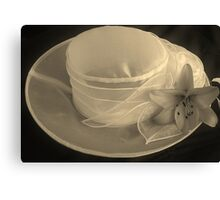 The Hat! Canvas Print