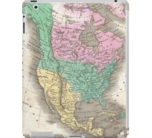 Vintage Map of North America (1827) iPad Case/Skin
