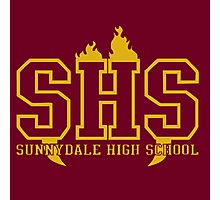 Sunnydale High School Photographic Print