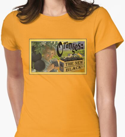 Oranges: The New Black! #OITNB Womens Fitted T-Shirt