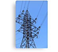 power line Canvas Print