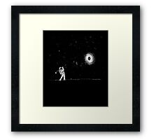 Black Hole In One Framed Print