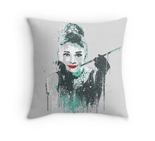 Audrey 2 Throw Pillow